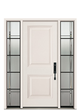 Door: S-01 (Classic) Sidelites: S-1088 (Direct Glaze)